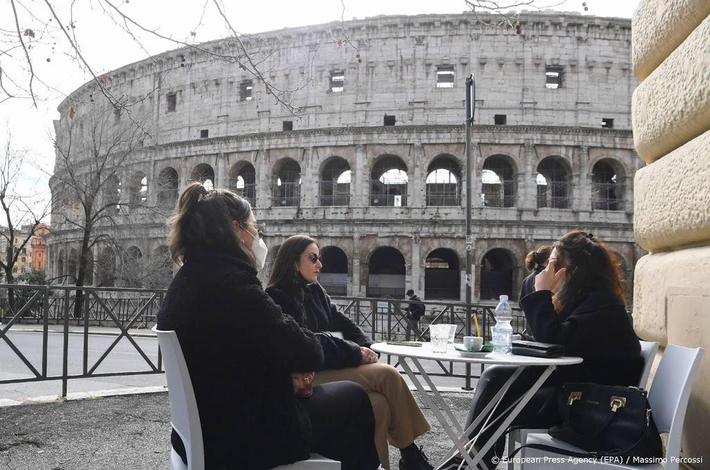 Italië versoepelt maatregelen, attracties in Rome weer open