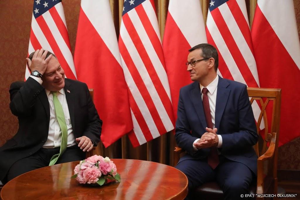 Pompeo tekent overeenkomst voor 1000 extra militairen in Polen