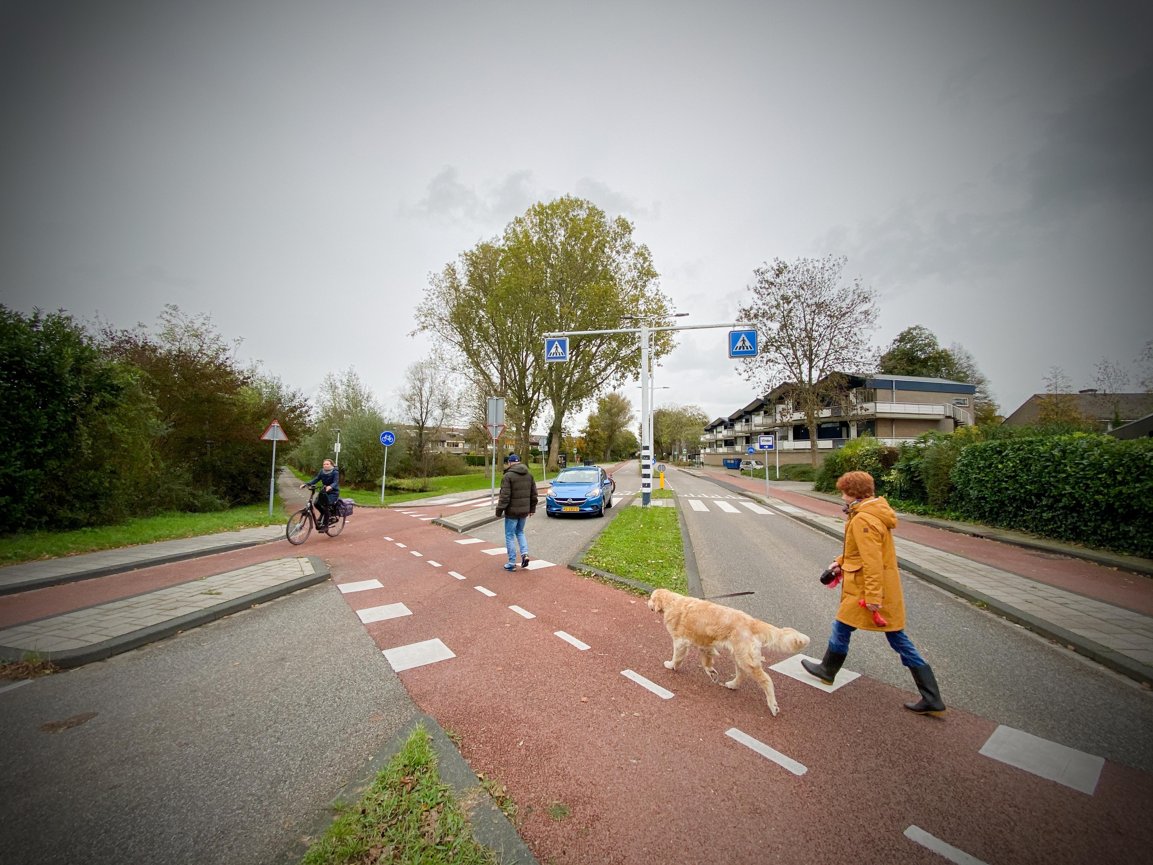Wijk en belangenclubs betreuren Leidse keuze 'voor verkeershufter' bij kruising Broekweg/Veluwemeerlaan