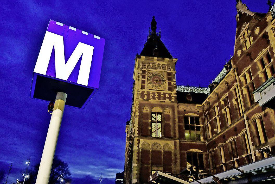 Metronetwerk Amsterdam start weer op na storing