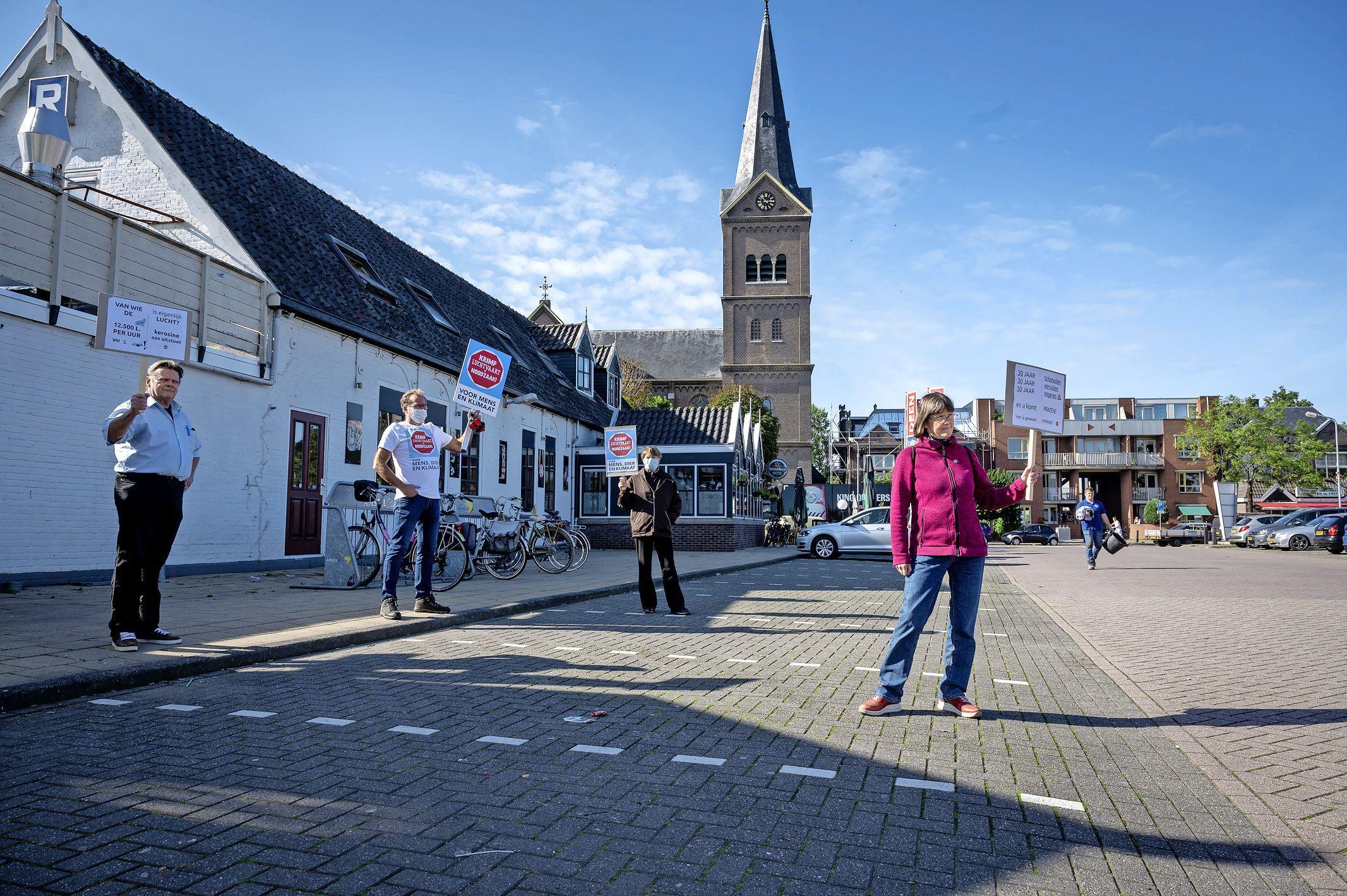SOS Zaanstreek eist betere bescherming tegen Schiphol: 'Het is hier een lawaai ghetto'