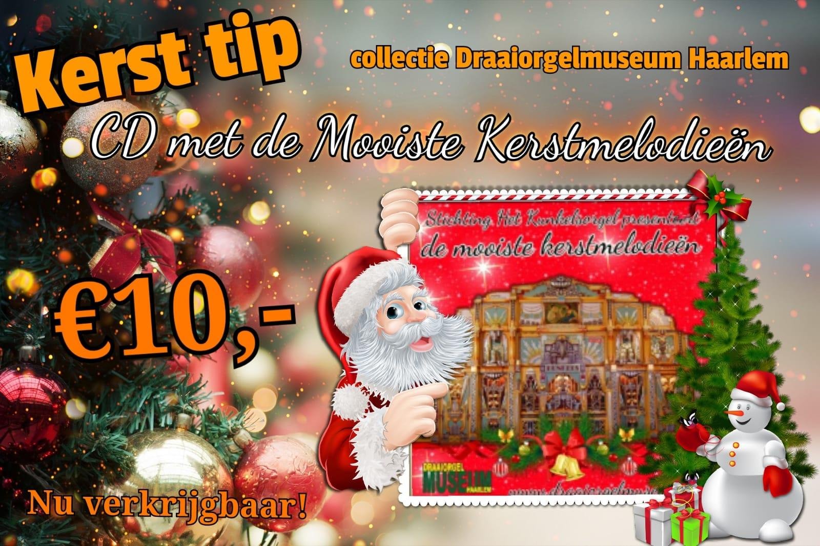 Haarlems Draaiorgelmuseum komt met speciale kerst-cd
