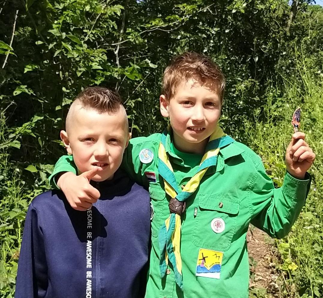 Mick wil lid blijven van scoutingclub De IJmondtrekkers uit IJmuiden: 'Al mijn vrienden zitten hier'