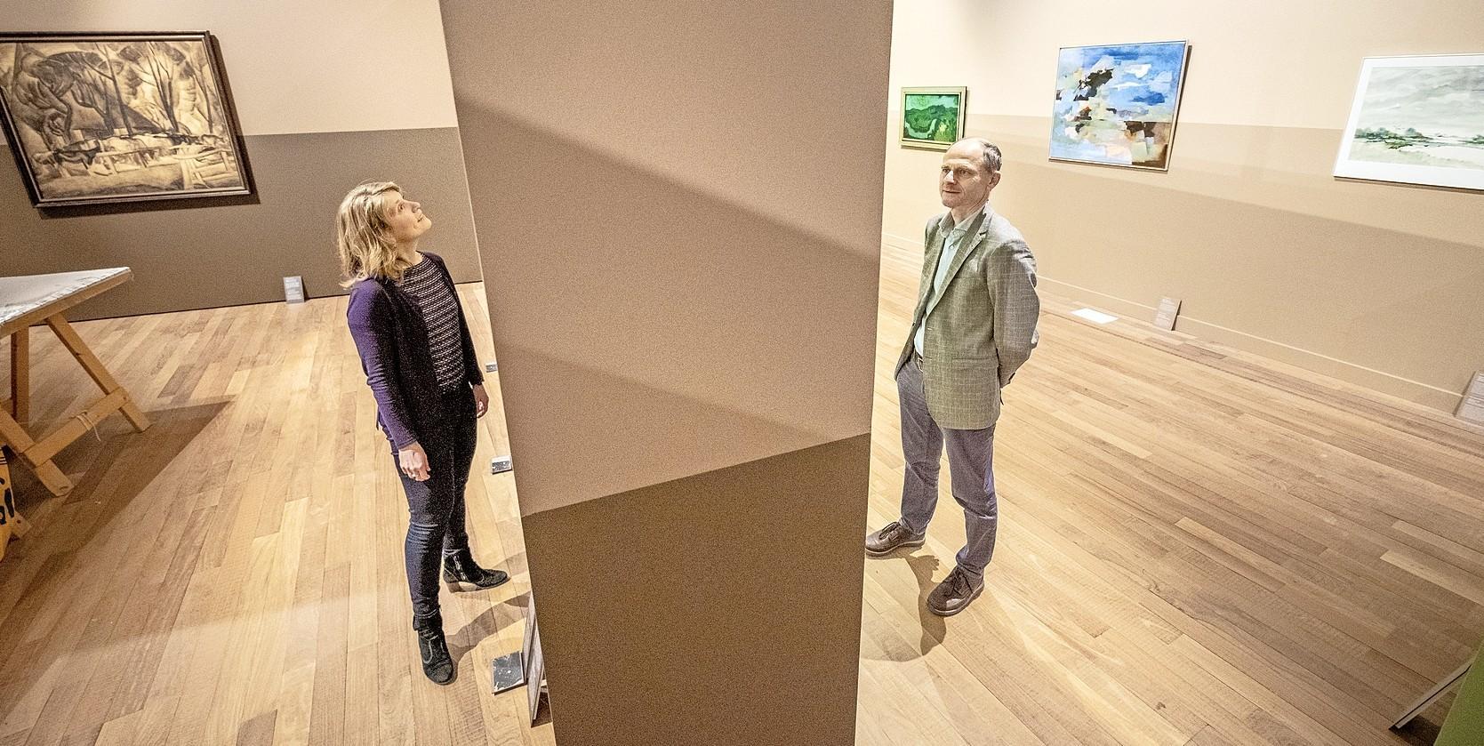 Wie Noord-Holland denkt, denkt plat, groen en recht. En een horizon die je altijd ziet, waar je ook kijkt. Dus ook op de expositie 'Weids!' in Stedelijk Museum Alkmaar
