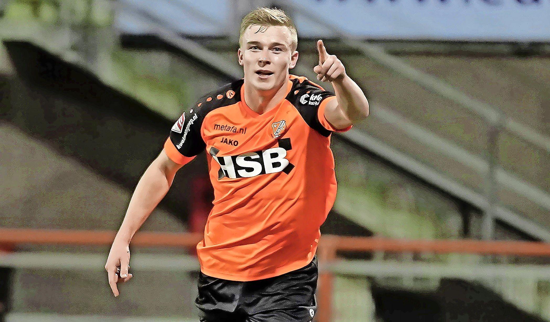 Waar die sterke, lange rushes zijn gebleven? Derry John Murkin - de revelatie van FC Volendam in de eerste seizoenshelft - belooft beterschap tegen Almere City