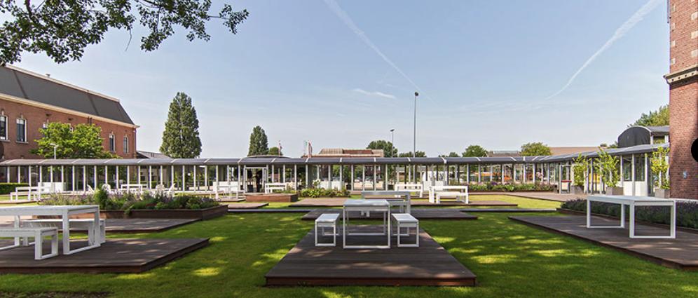 Nieuw 'terrastival' HEMtuin op het Hembrugterrein in Zaandam: dinnershows, kunstinstallaties en theatervoorstellingen