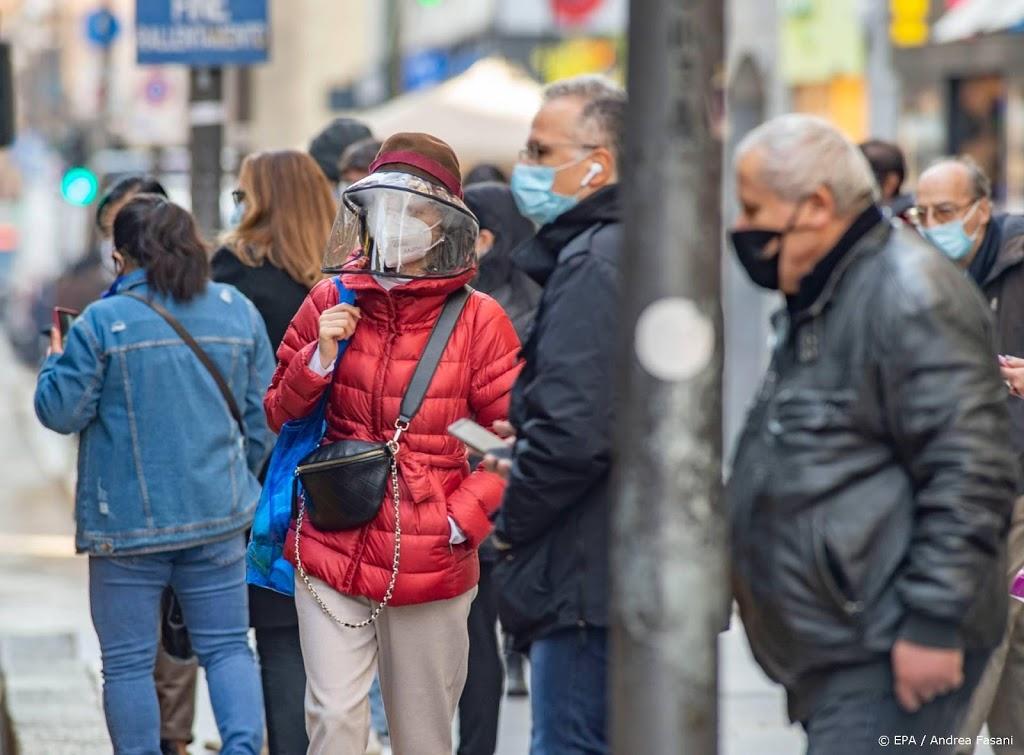 Italië telt recordaantal besmettingen: ruim 31.000 op één dag
