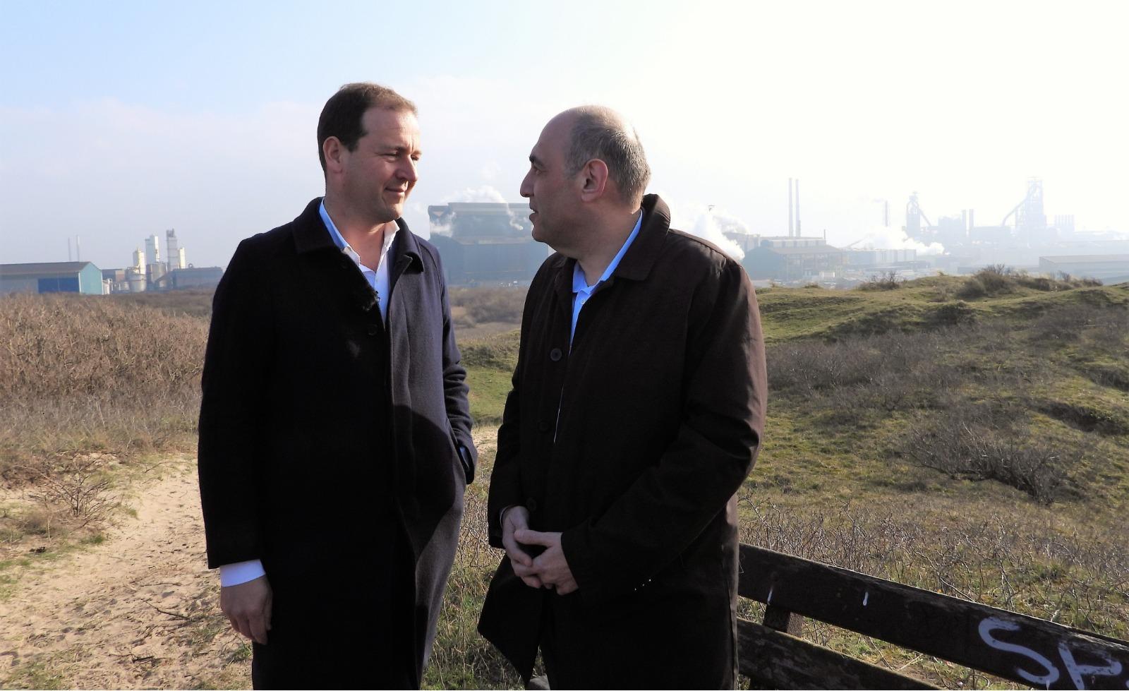 Dwangsommen Harsco niet naar milieumaatregelen Wijk aan Zee, Dorpsraad teleurgesteld