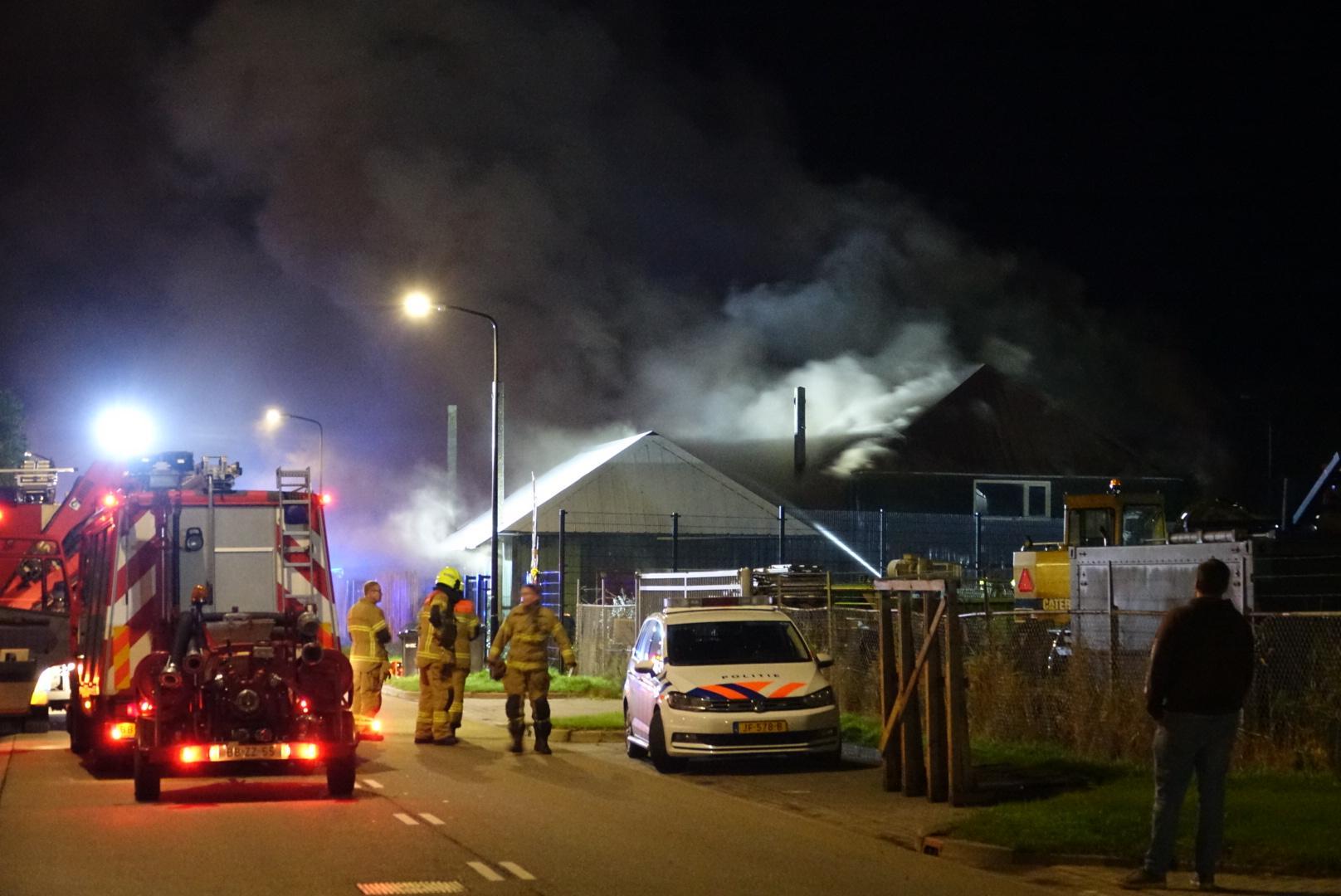 Grote schade in pand Schagen na uitslaande brand, niemand gewond