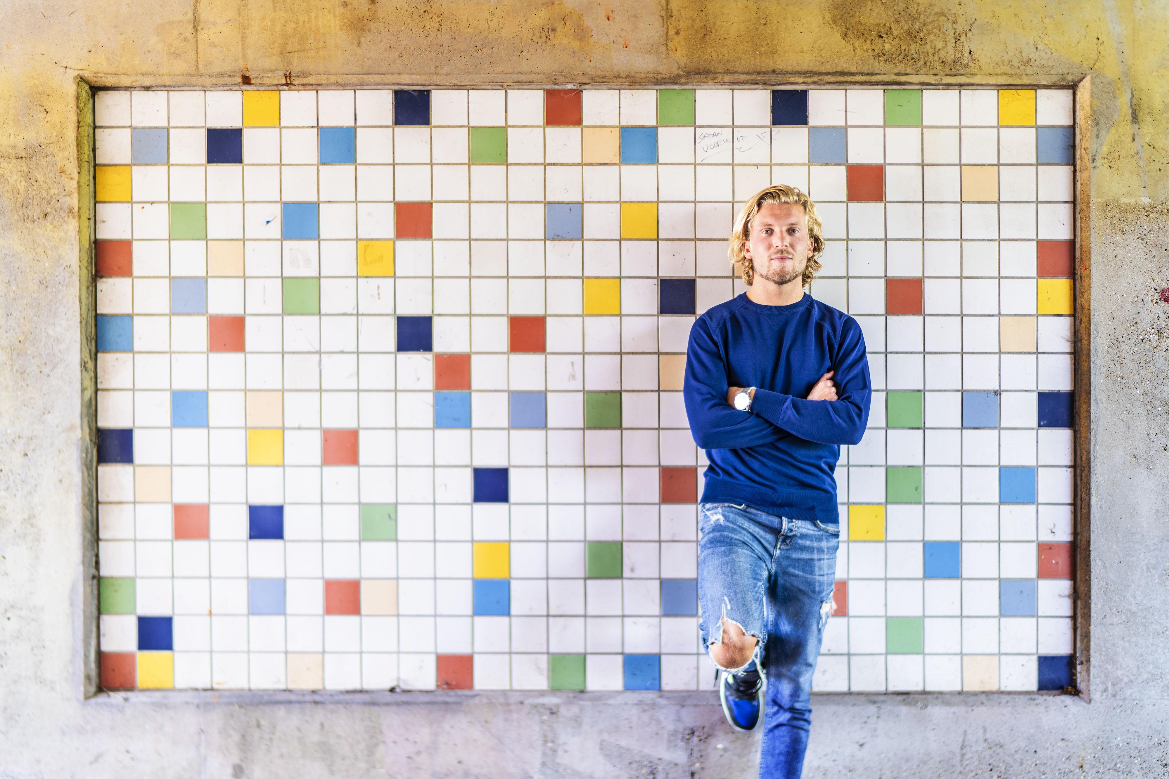 Blessures stonden een doorbraak van talent Nino Roffelsen in de weg. Hij voetbalt nu bij Noordwijk, maar moet nog wennen aan het ritme