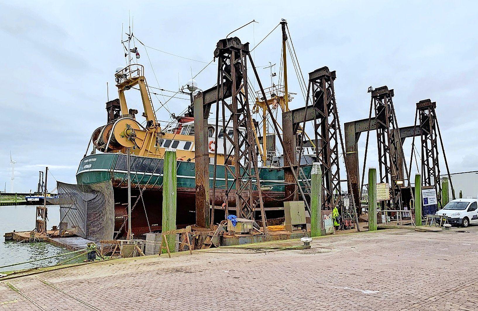 Toch onderhoud Britse schepen in Noordkop-havens