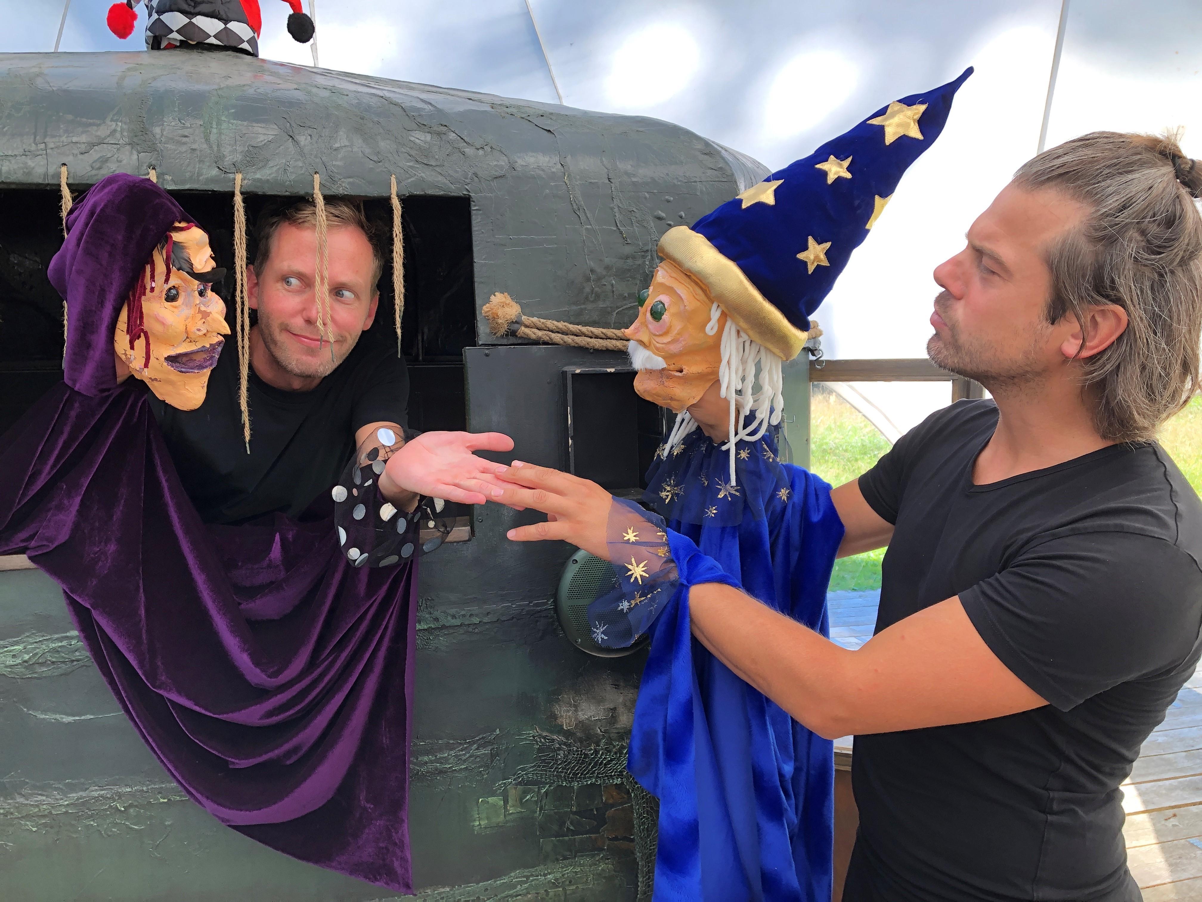 Magie in nieuwe familievoorstelling van Herman van Veen op Landgoed De Paltz