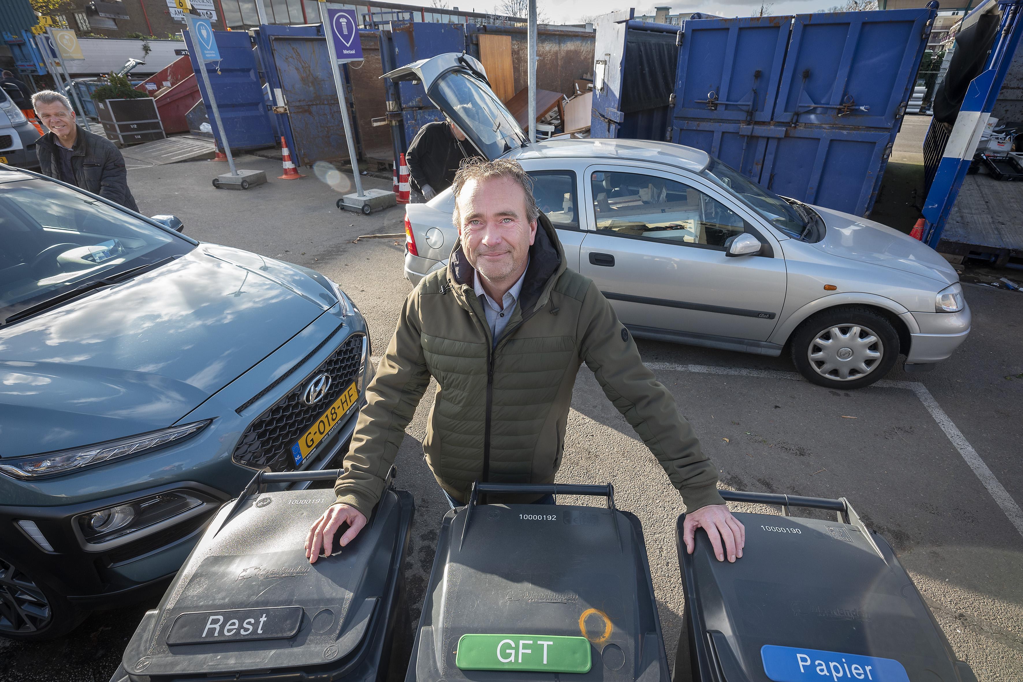 Nieuwe rolcontainers na half maart in Hillegom verspreid; nascheiding voorlopig niet aan de orde