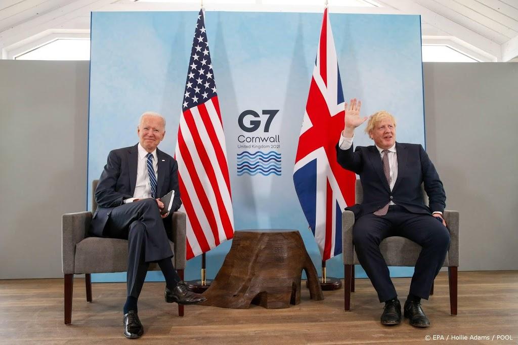 Biden en Johnson willen stabiel Noord-Ierland