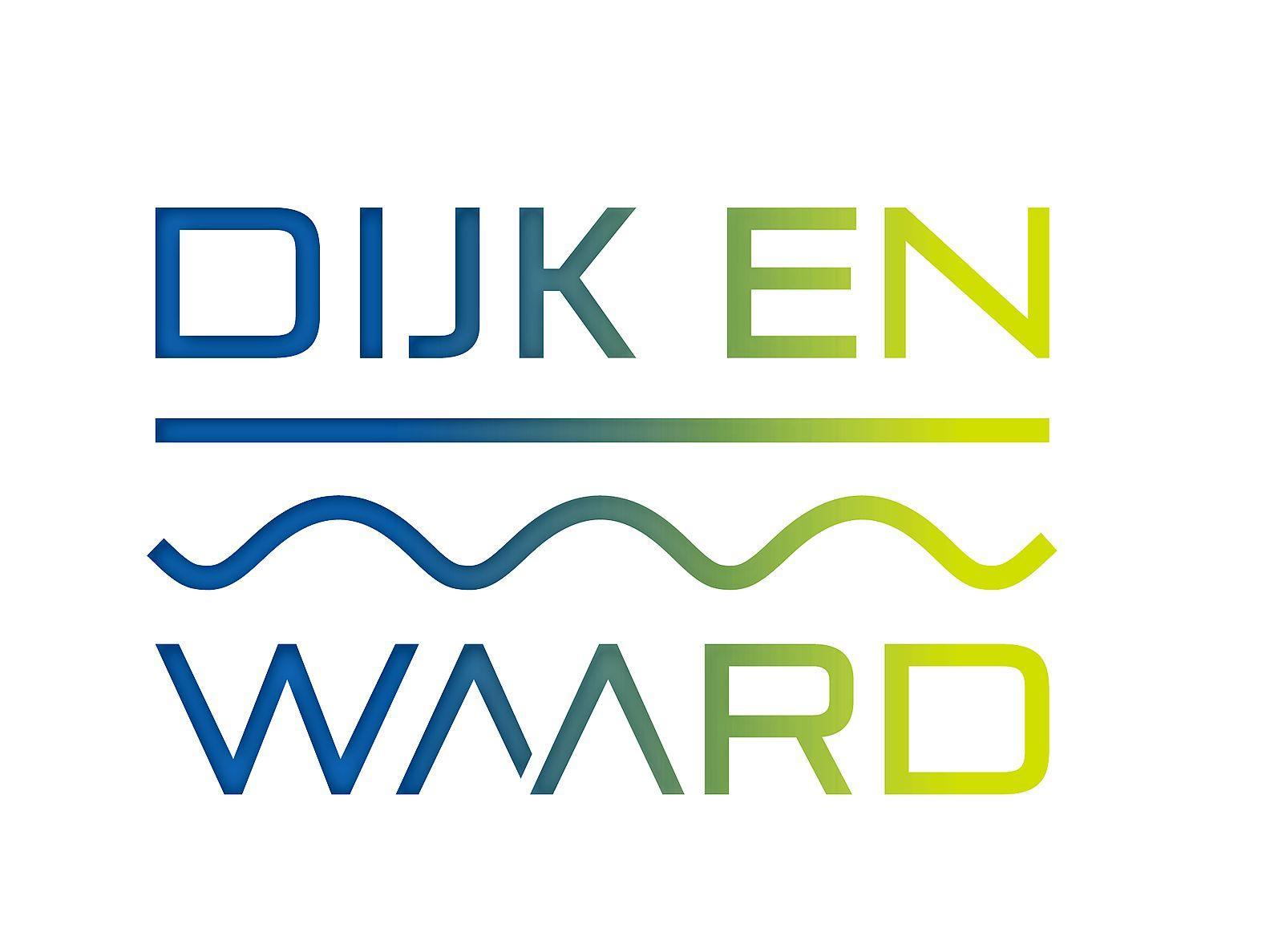 Een streep en een golvende lijn. Land en water keren terug in nieuw logo fusiegemeente Dijk en Waard