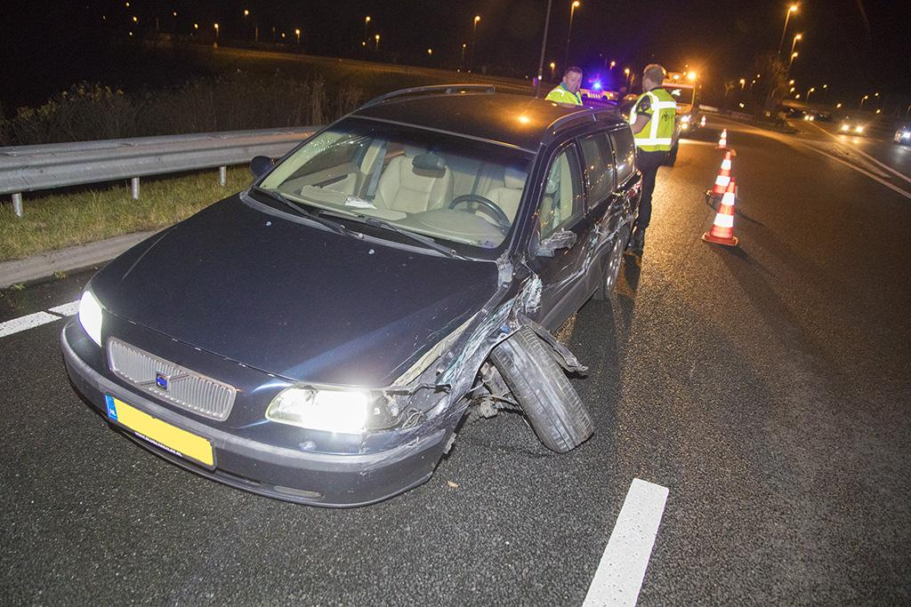 Afrit A9 bij Vijfhuizen afgesloten na crash