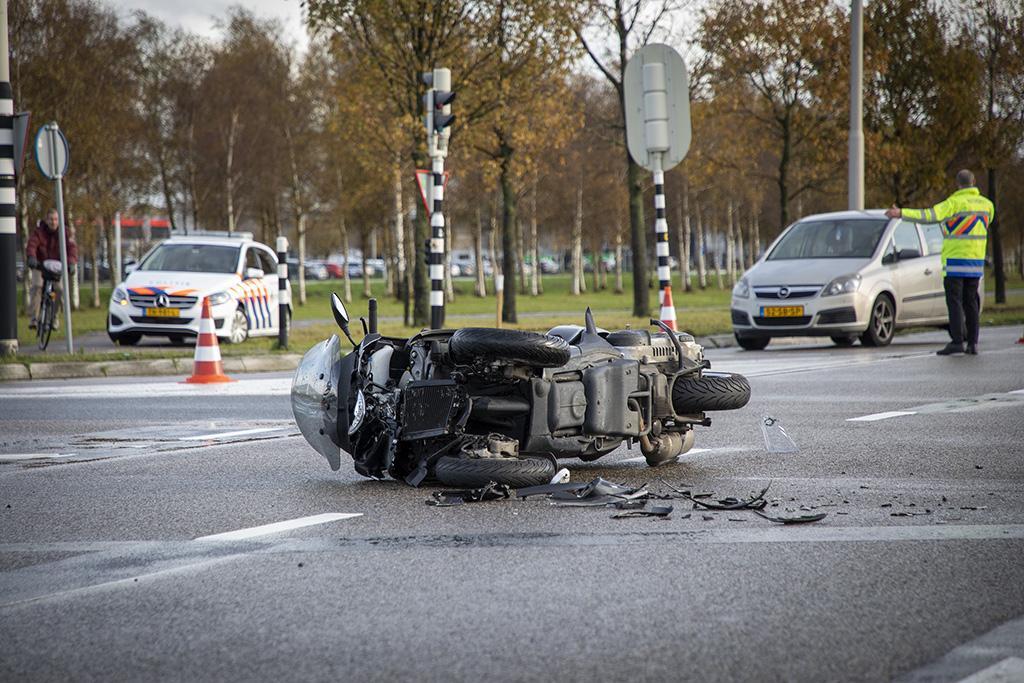 Motorrijder zwaargewond bij ongeval in Badhoevedorp