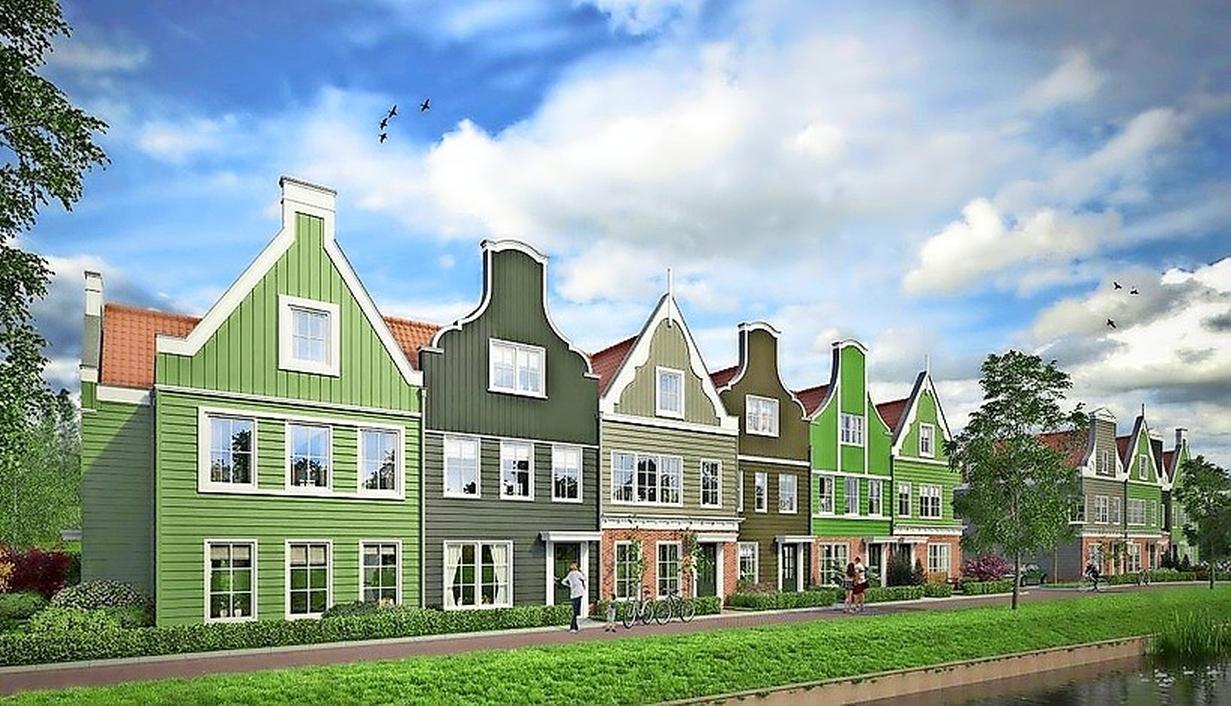 Landsmeerders enthousiast over 25 starterswoningen aan het Zuideinde, wél zorgen over parkeerdruk