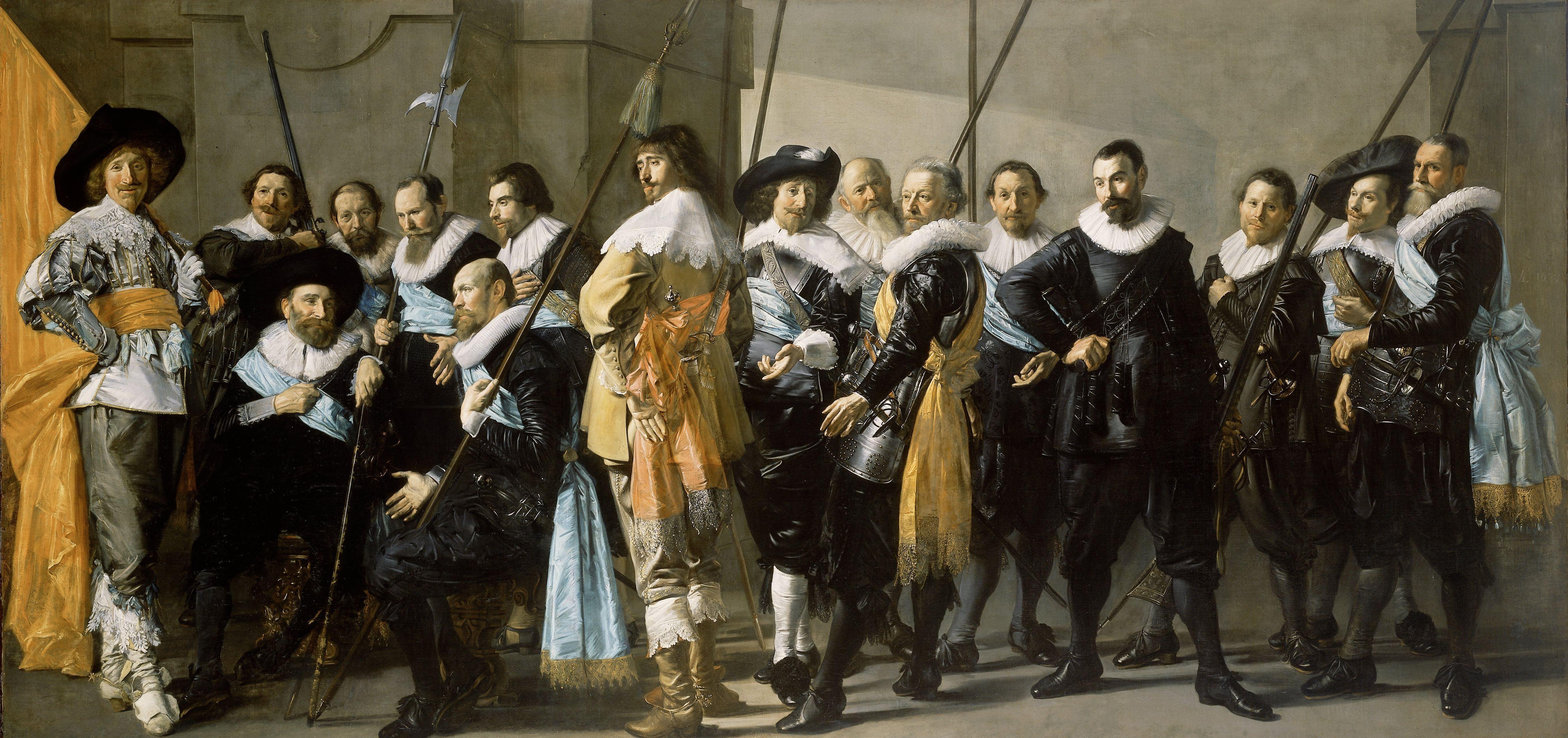 De schutters vormden Haarlems gewapende macht. Echte schutters waren geen regenten, maar Haarlemmers uit de lagere middenklasse