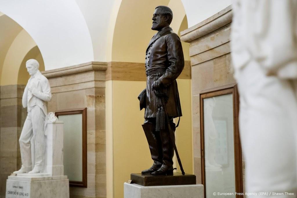 Standbeeld generaal Lee verwijderd uit Amerikaans parlement