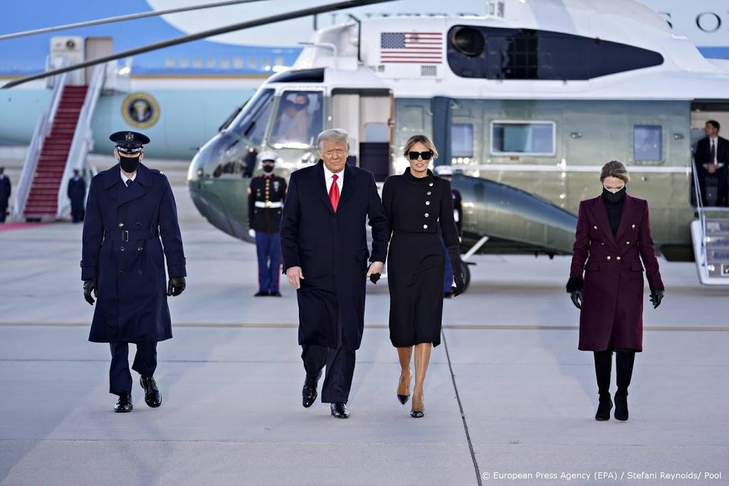 Trump geland in Florida