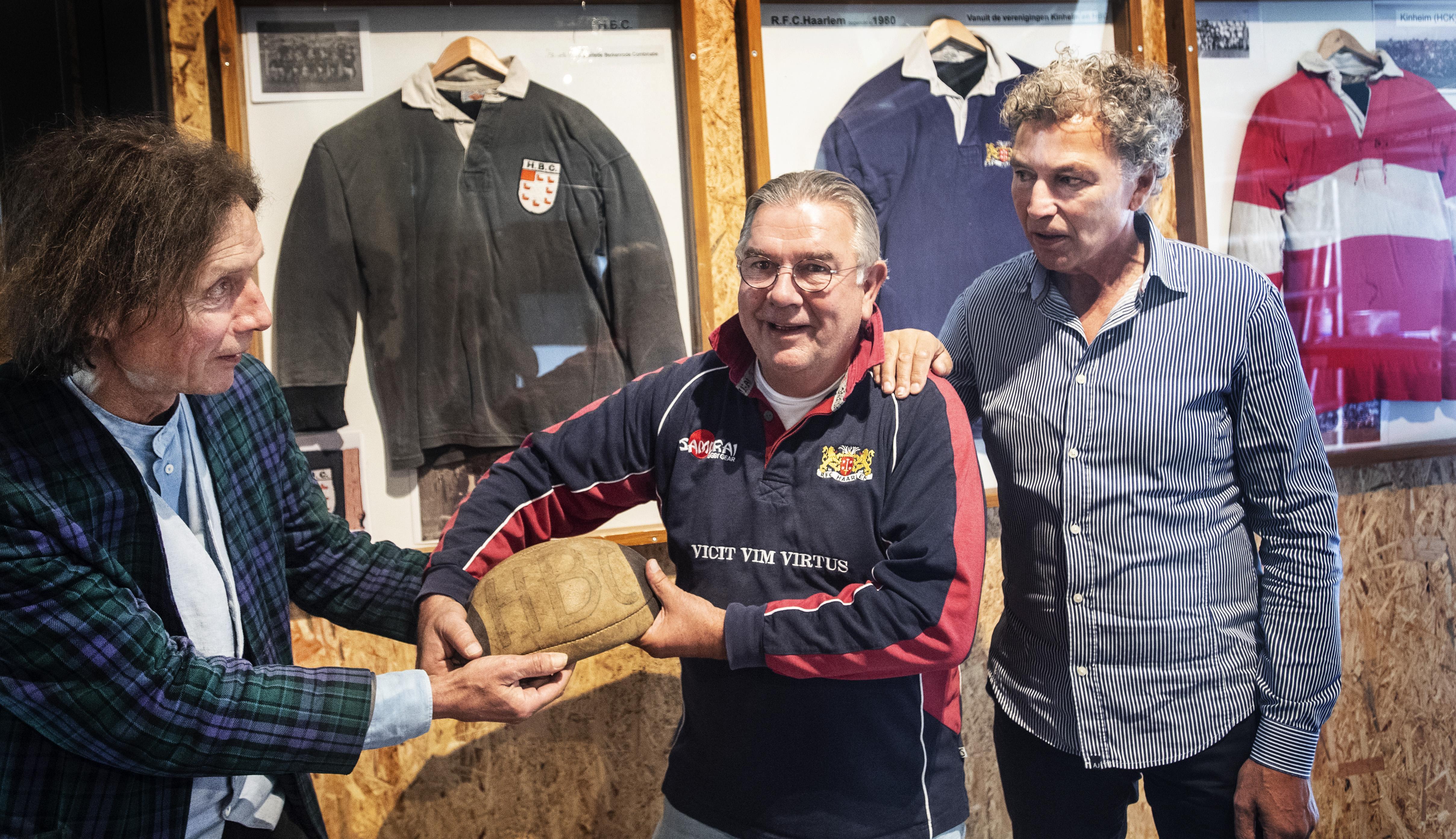 De zeven turbulente jaren van Rugbyclub HBC: pionieren in een modderpoel