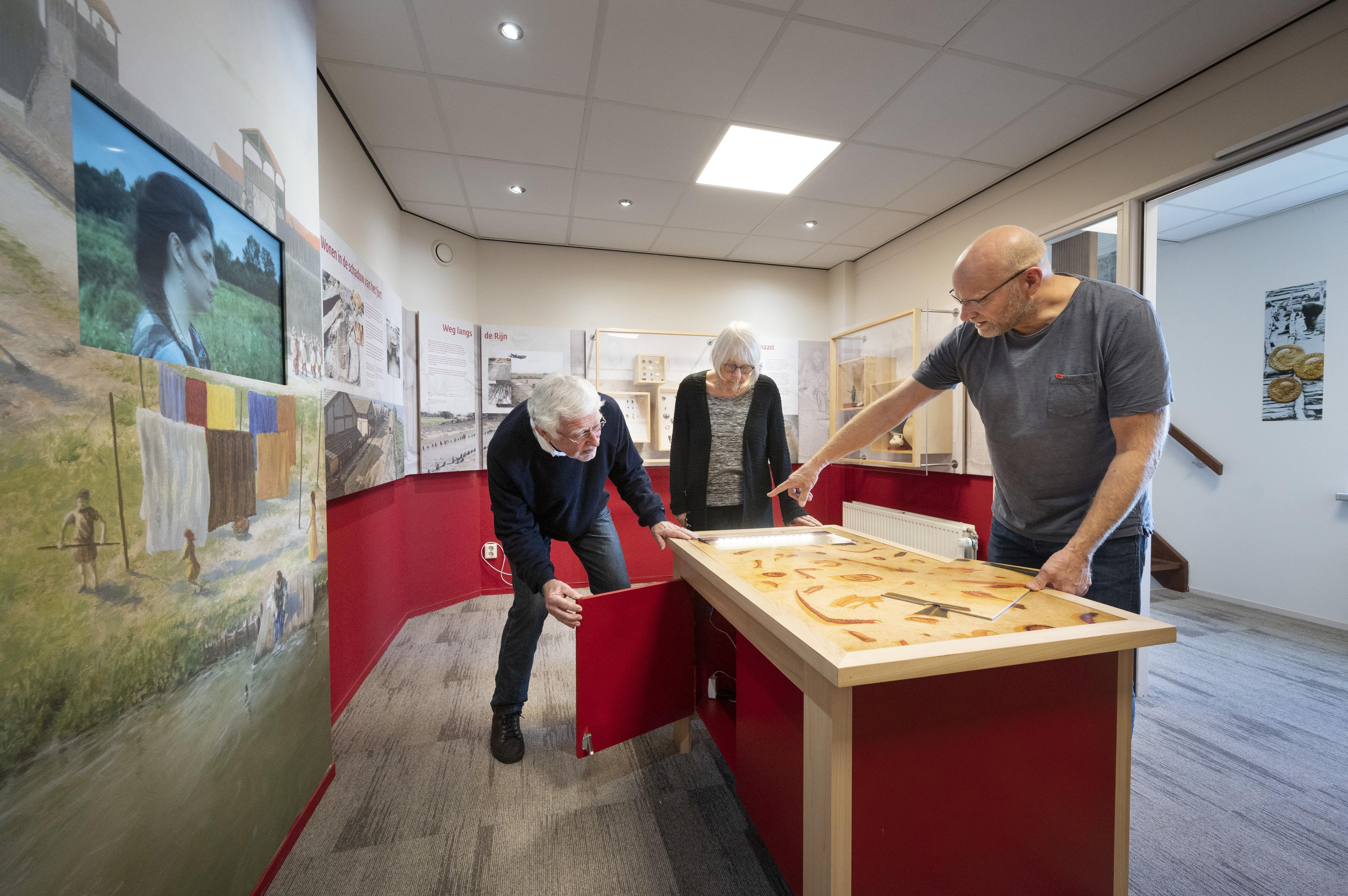 Torenmuseum Valkenburg in nieuw historisch jasje: expositie over Romeinse 'Vinexwijk' van tweeduizend jaar geleden