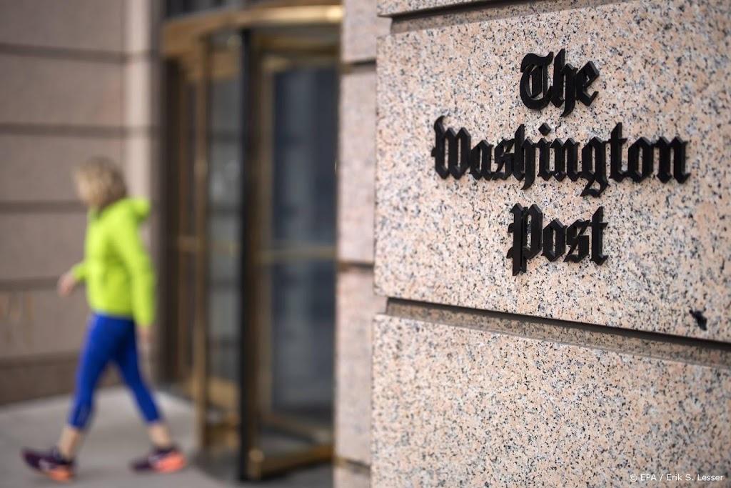 Justitie onder Trump verzamelde belgegevens Washington Post