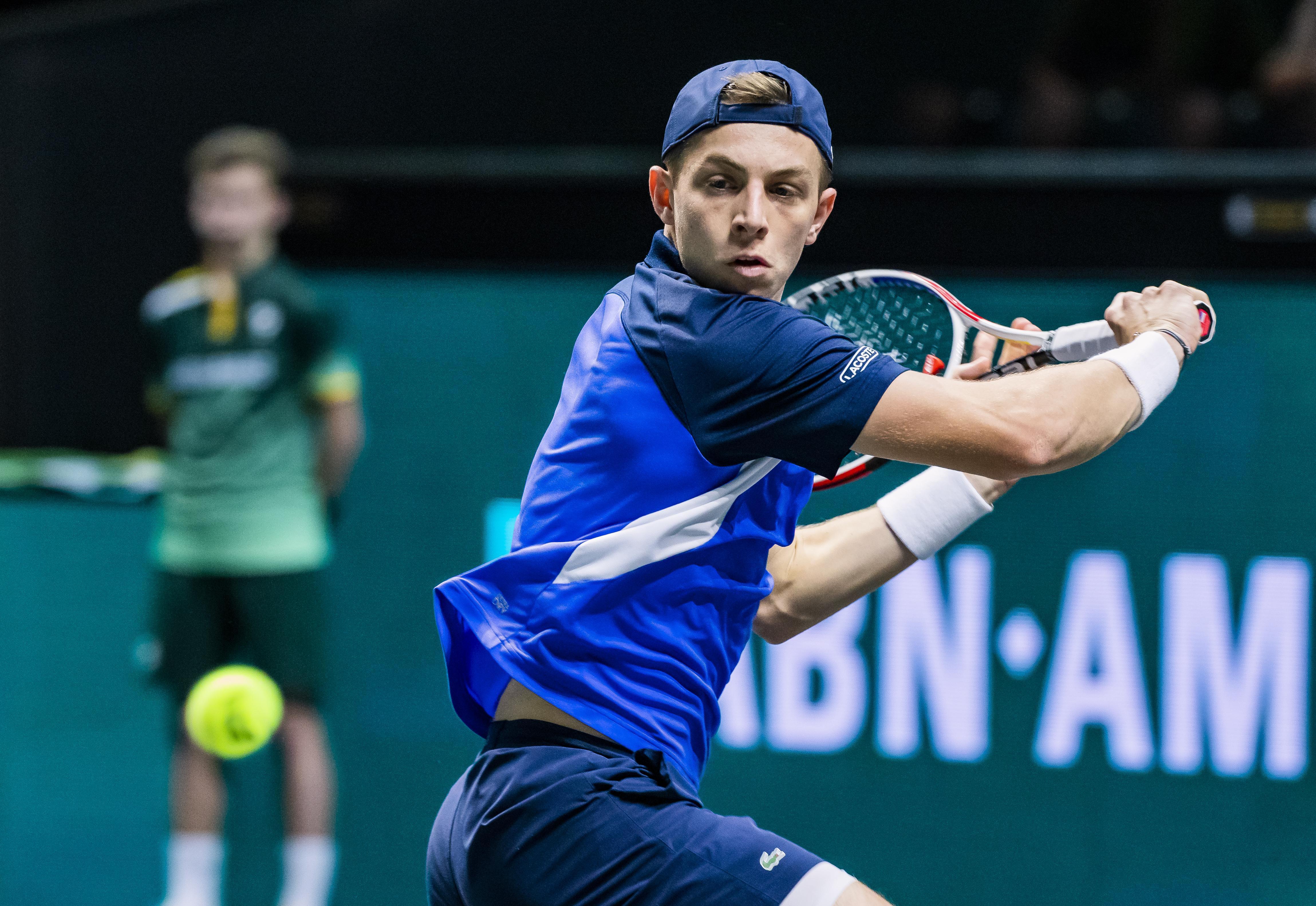 Tennisser Griekspoor naar finale challengertoernooi in Bratislava