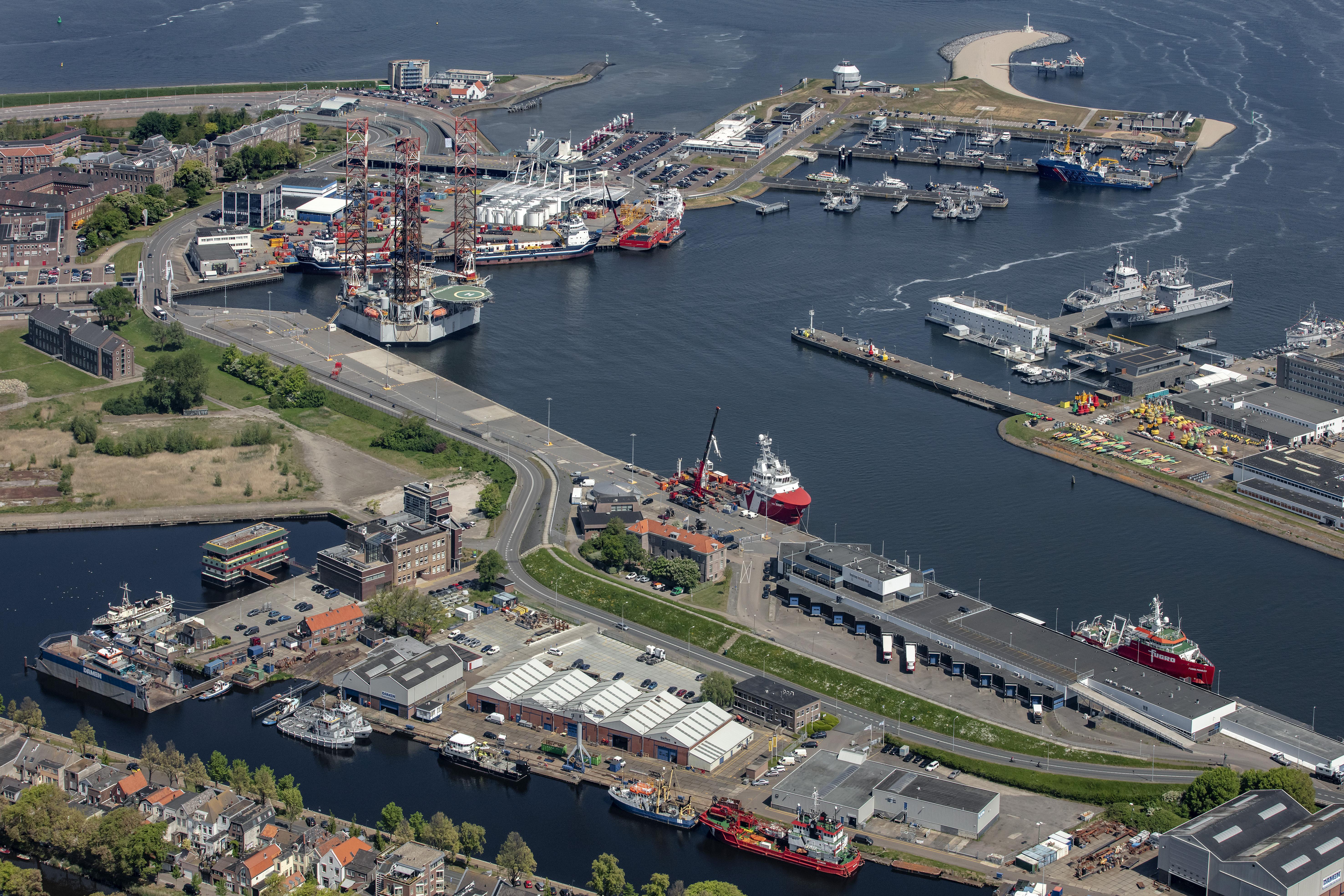 Haven Den Helder kan belangrijk energieknooppunt worden