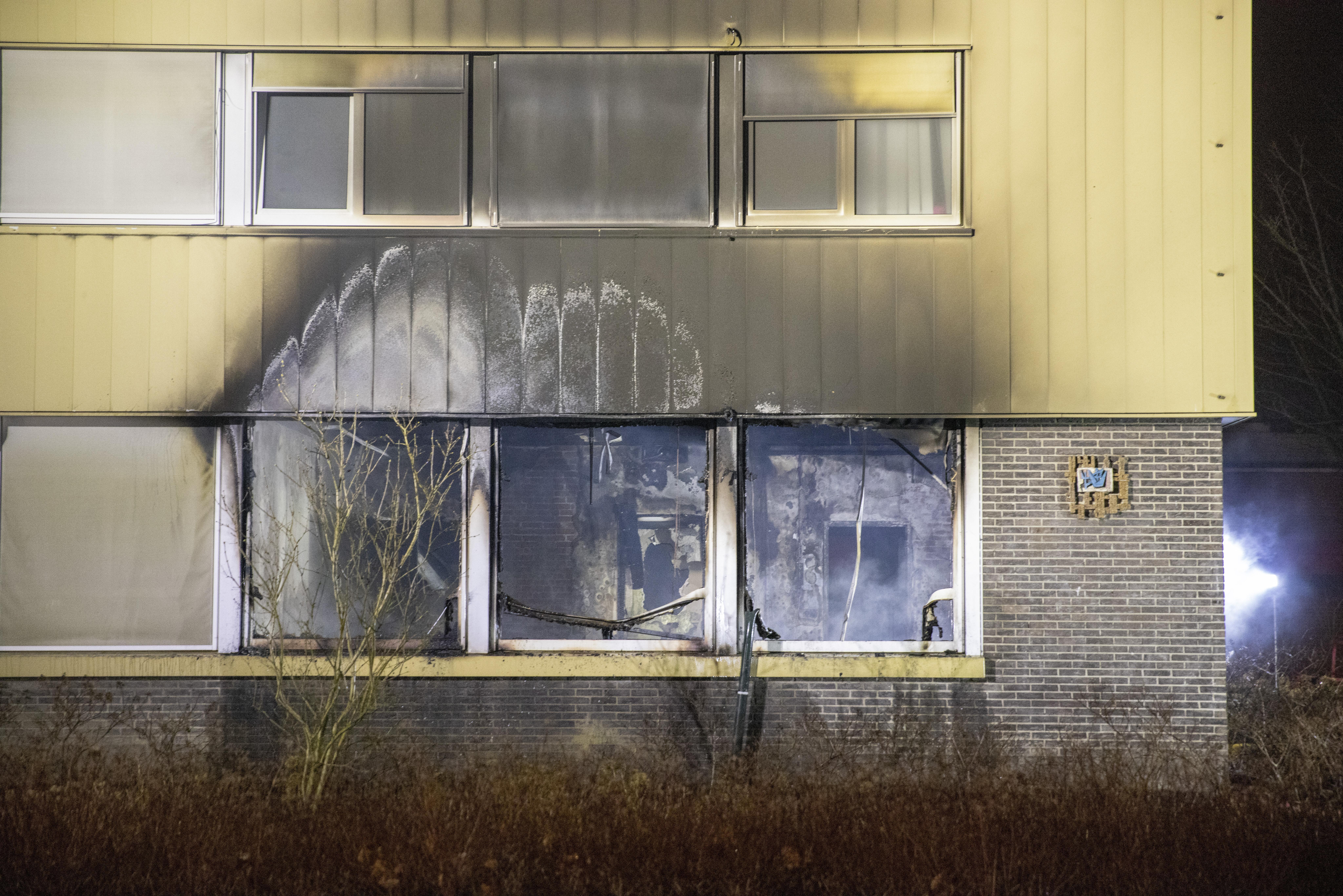Geen brandstichting in Hoofddorps pand statushouders, wel veel schade