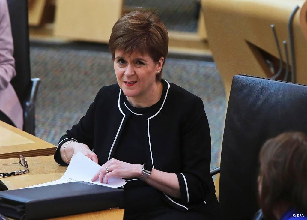 Sturgeon wil volgend jaar referendum Schotse onafhankelijkheid