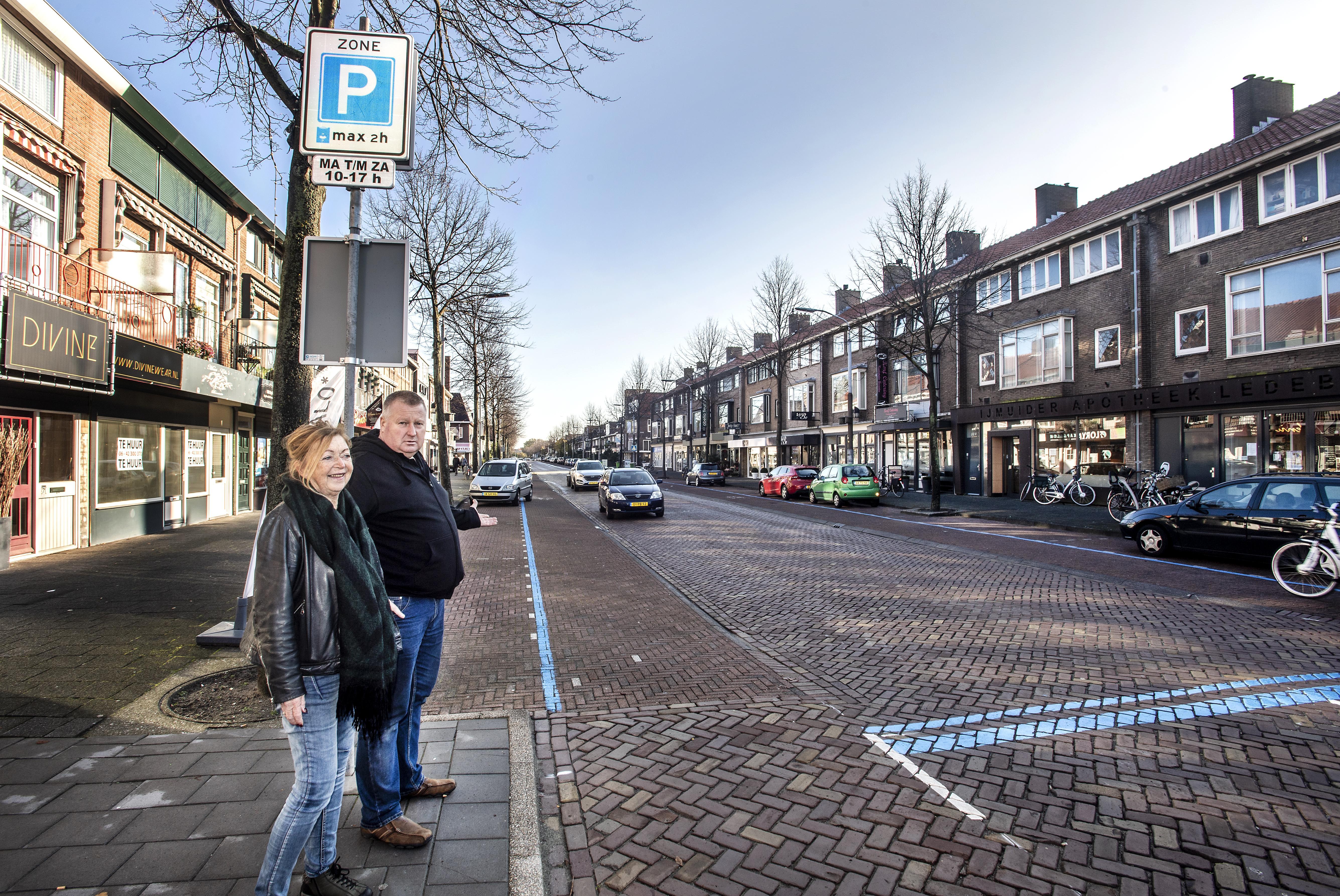 Oordeel over proef met blauwe zone laat nog op zich wachten. Herinrichting Kennemerlaan IJmuiden start in maart