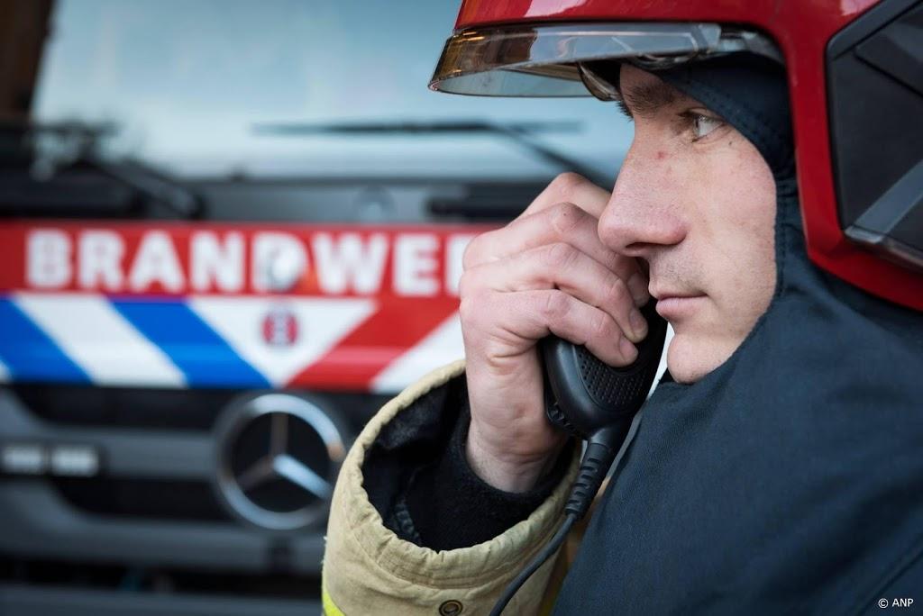 Brand op industrieterrein in Heerhugowaard