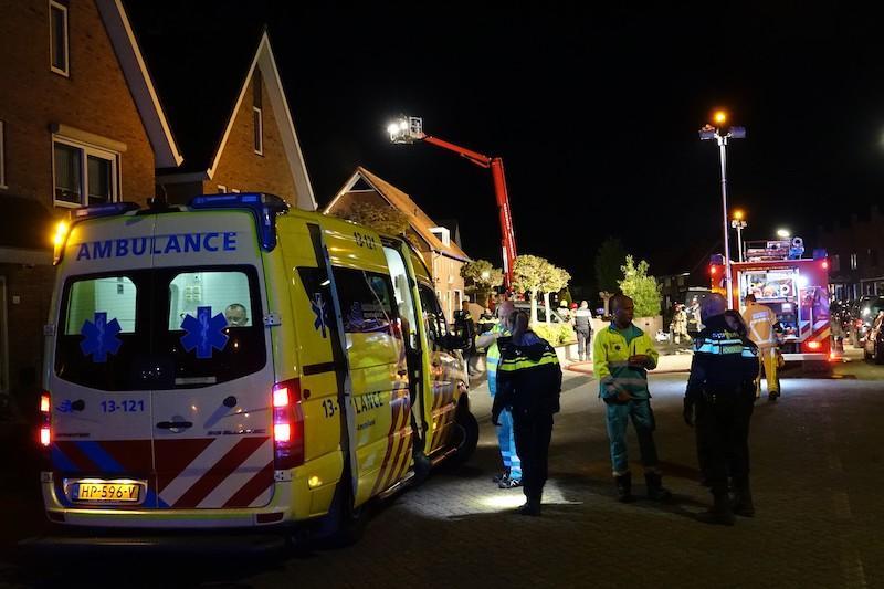 Twee gewonden bij brand in woning in Volendam