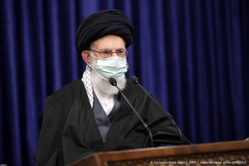 Tweet van Khamenei over 'onbetrouwbare vaccins' verwijderd