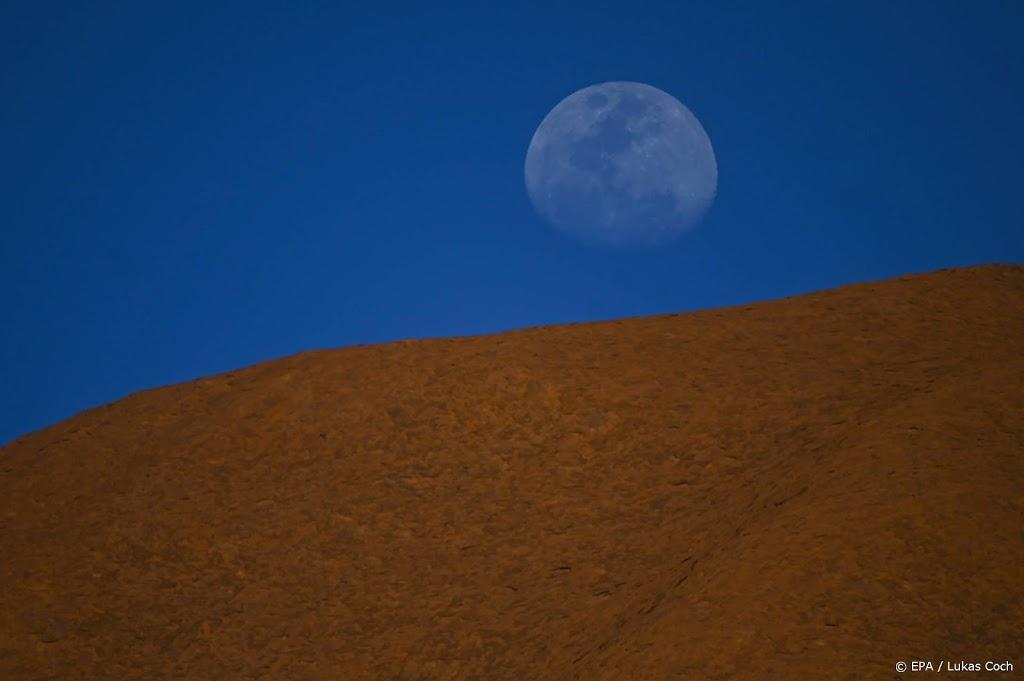 Maan heeft meer bevroren water dan verwacht