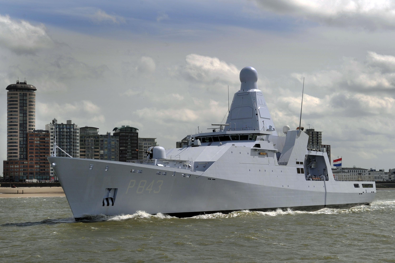 Patrouilleschip Zr.Ms. Groningen terug naar Den Helder voor reparatie. Marine heeft momenteel geen vervangende schepen beschikbaar
