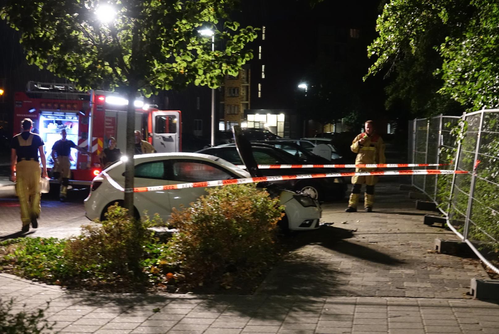 Autobrand in Purmerend is vermoedelijk aangestoken