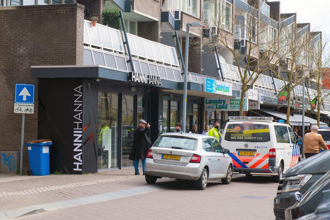 Vier panden aan Concourslaan in centrum Hoofddorp binnengevallen bij grote actie politie en overheidsdiensten