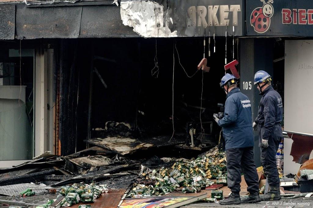 Drie verdachten explosies Poolse supermarkten nog vast