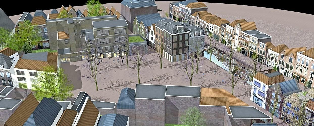 Buurt schakelt landschapsarchitect in voor alternatief plan Leidse Kaasmarkt