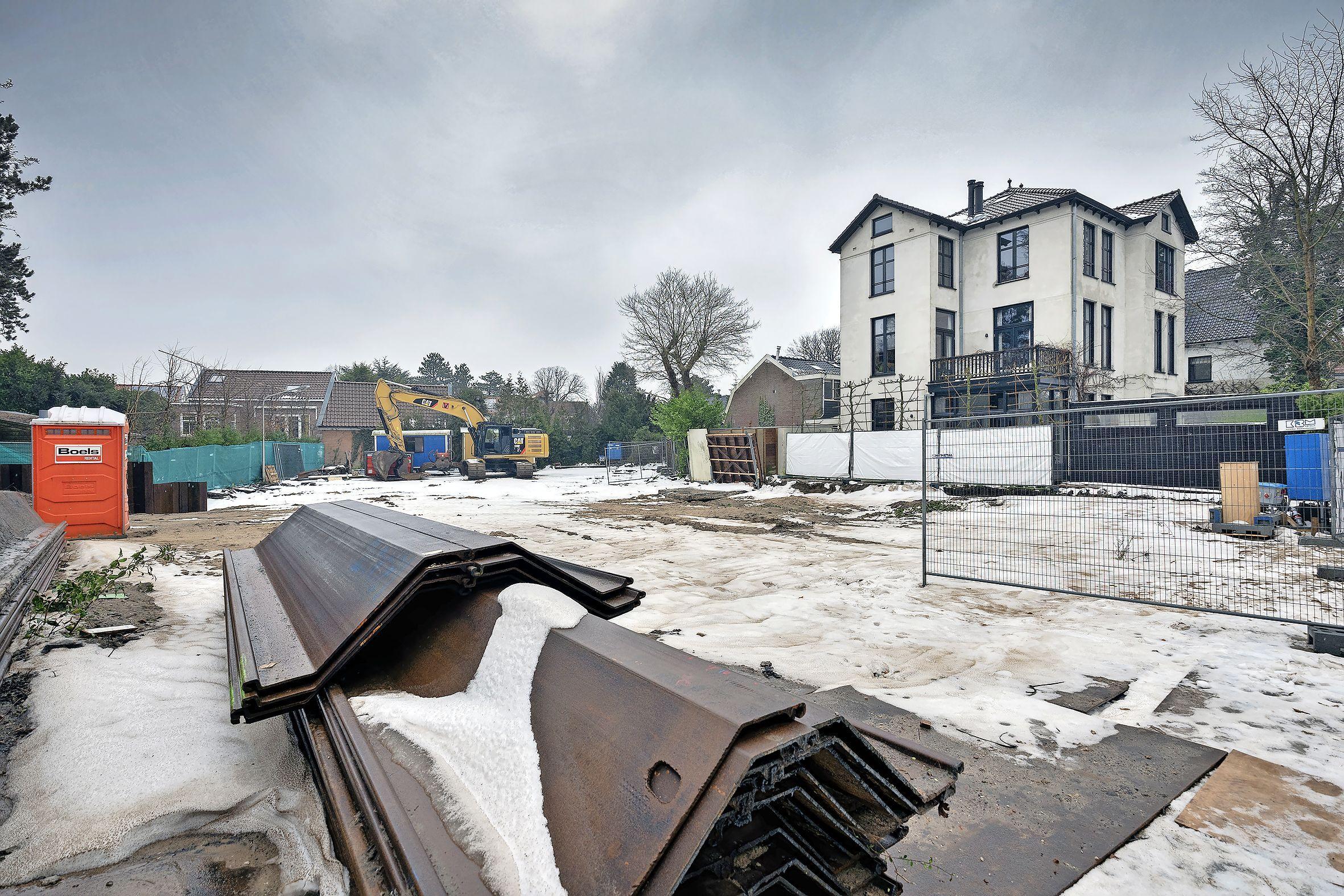 Consternatie na sloop villa: 'Het lijkt hier het wilde westen van Bloemendaal'