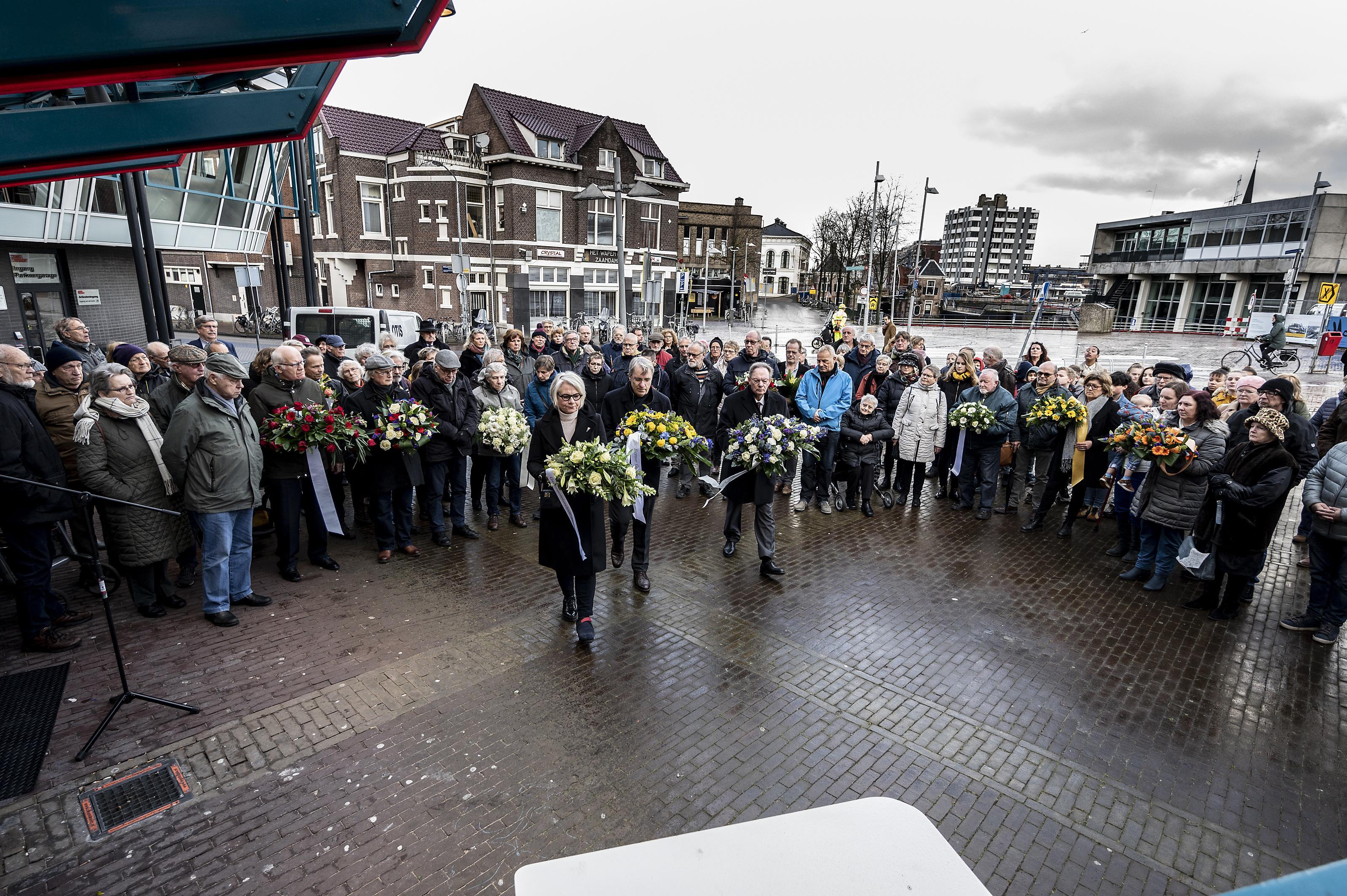 Zaanse herdenking Februaristaking op ongebruikelijke plek
