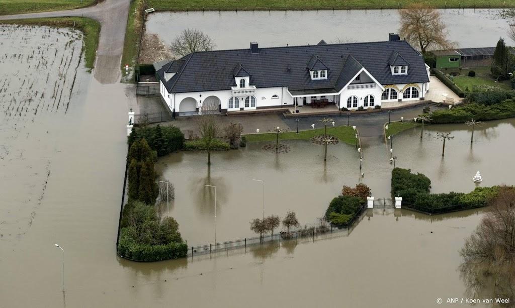 Afvoer Maaswater donderdagavond nog groter dan gedacht