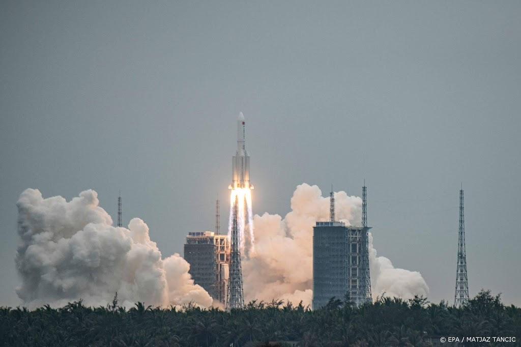 Risico op schade door Chinees ruimteafval 'extreem klein'
