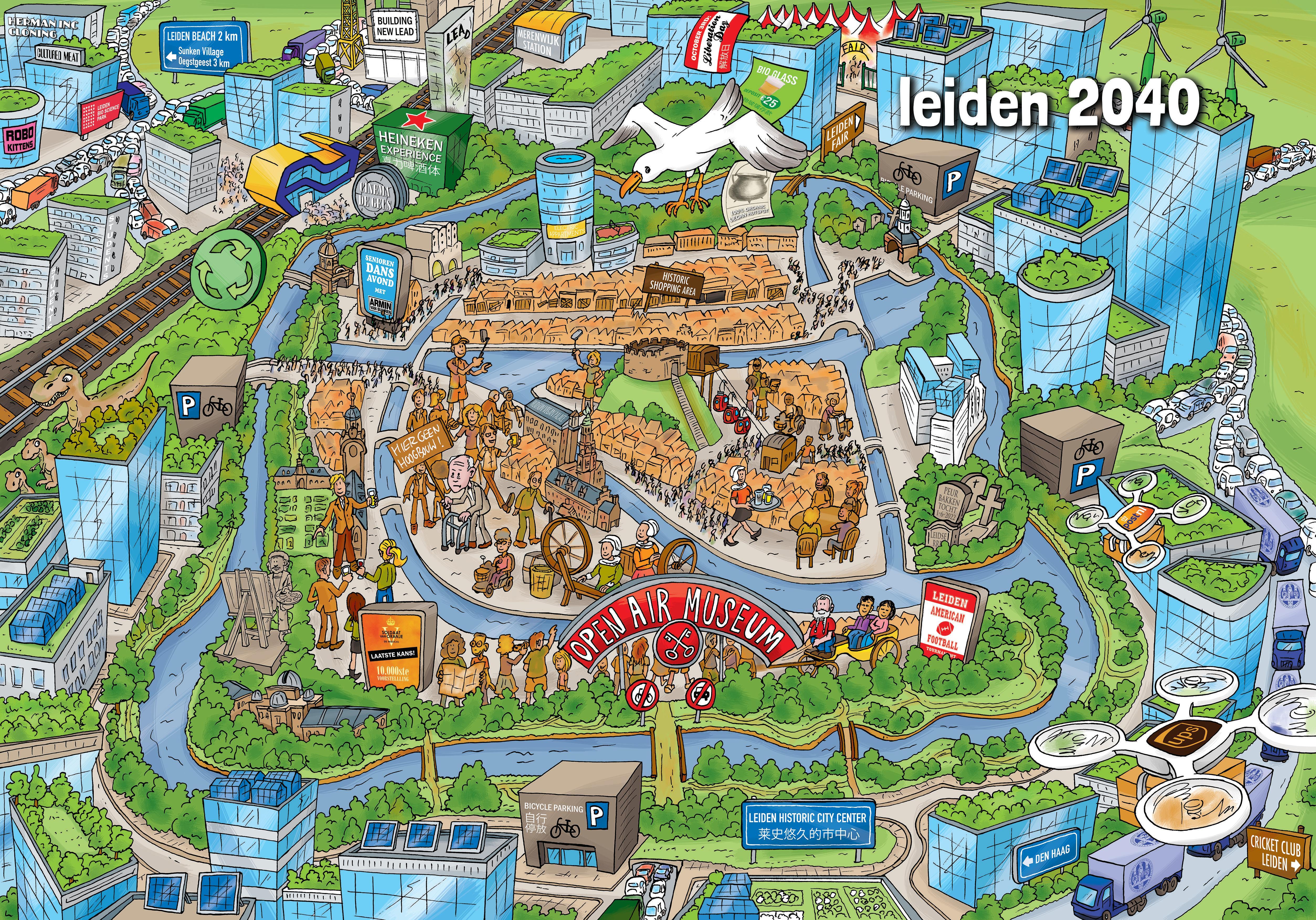 Project L: Leiden blijft in trek: wen er maar aan