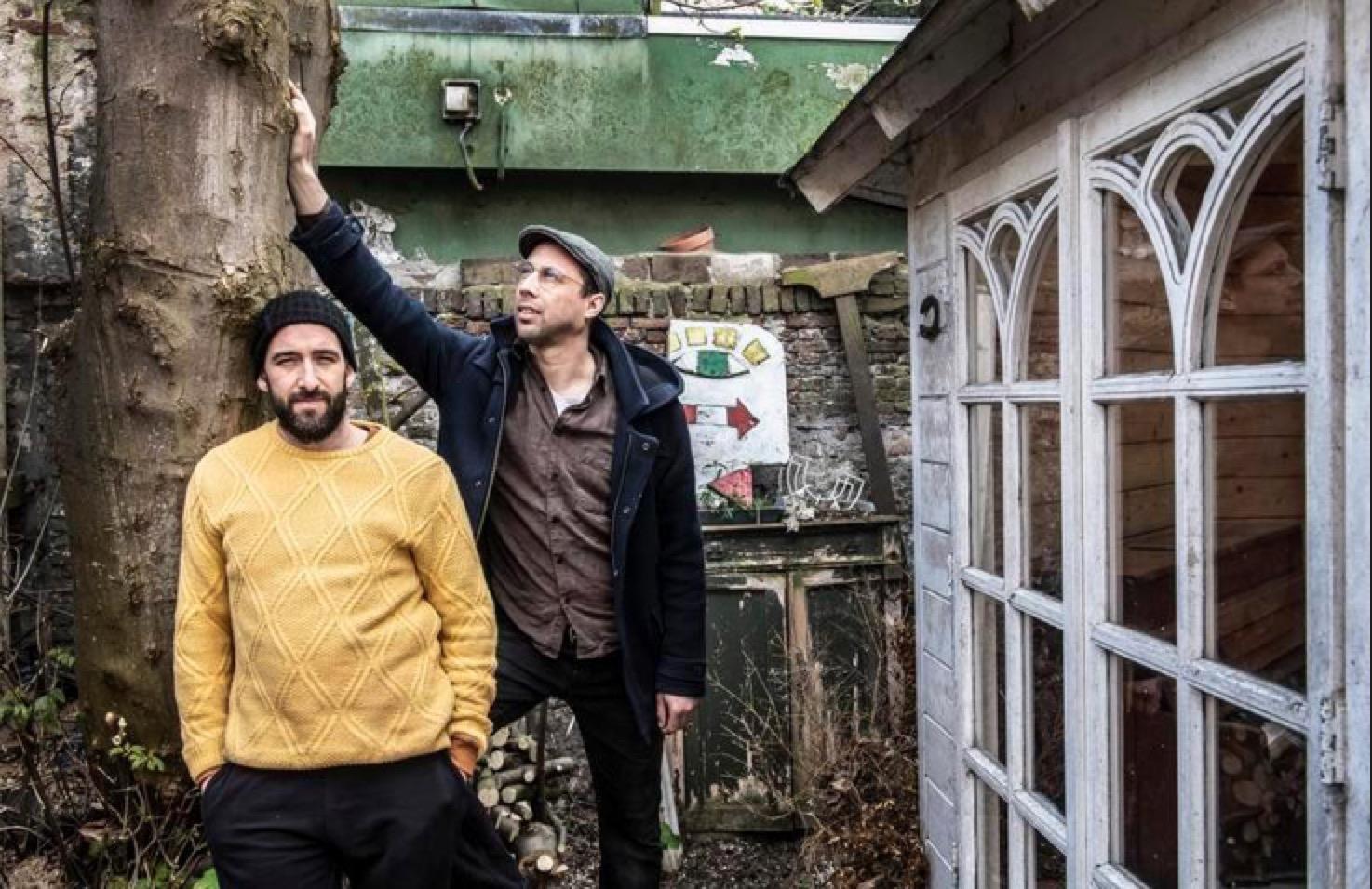 Lichtheid van muziek gevangen in download en kunstwerkje; debuut-EP van Haarlems duo Roser/Asselbergs [video]