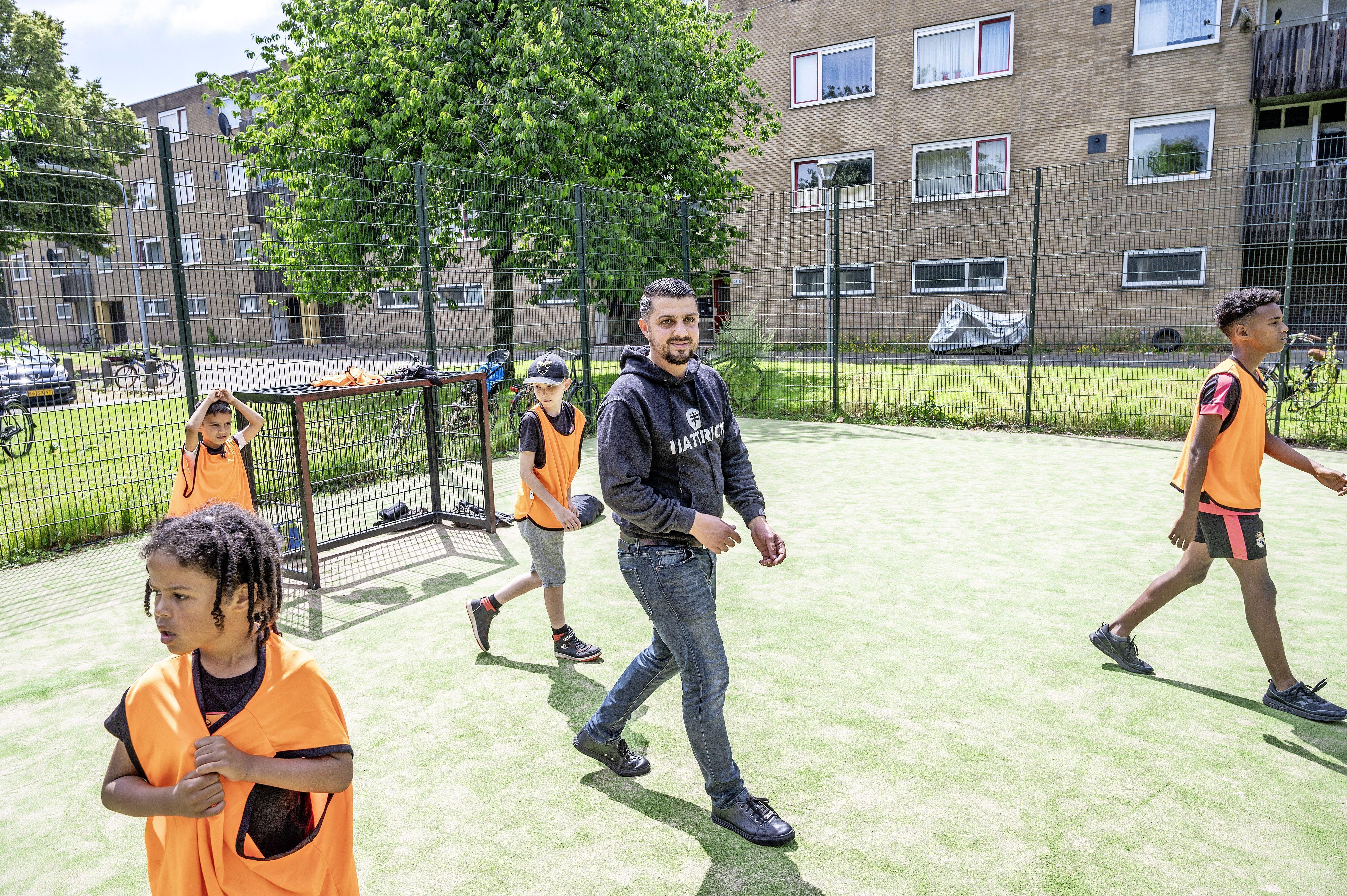 Schalkwijkse sportveldjes zijn een kweekvijver voor jong talent, maar liggen er niet goed bij: 'Zonde, want echte profs zijn begonnen op een pleintje'