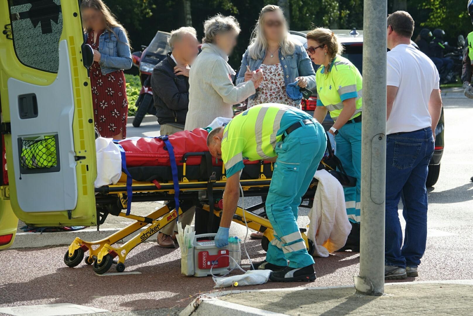 Fietser gewond bij aanrijding in Wognum